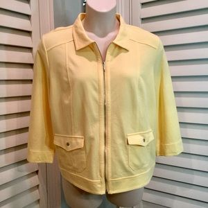 NWT, Chico's Jersey Knit Spring Jacket, 3/16